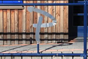 Logo am Eingang der Gemeinschaftspraxis Sülze-Bergen