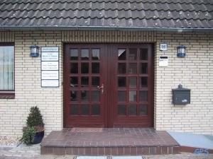 Historische Aufnahme Praxis Sülze - Eingangsbereich