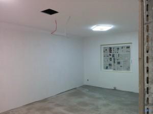 Umbau Gemeinschaftspraxis Praxis Bergen: Wartezimmer